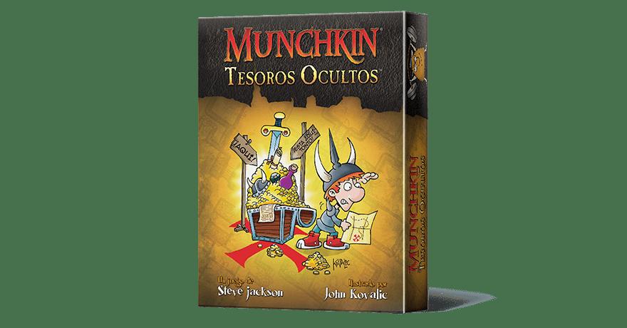 munchkin tesoros