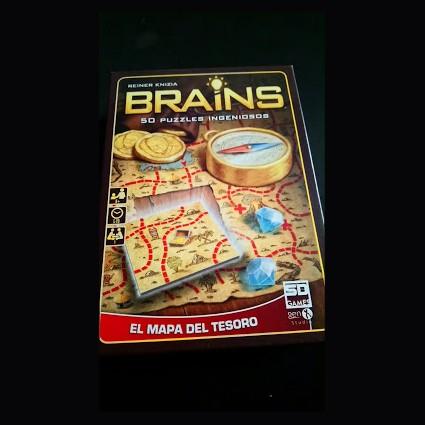 brains el mapa del tesoro