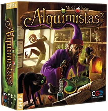 Alquimistas juego